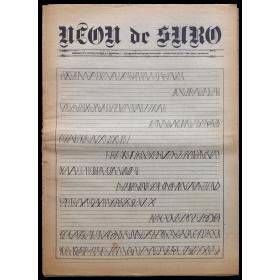 Neon de Suro. Fullet monogràfic de divulgació. Autor: Joan Palou. Desembre 1976
