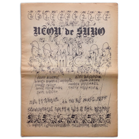 Neon de Suro a la Galeria Mec Mec, Barcelona, del 19 d'abril al 10 de maig, 1977
