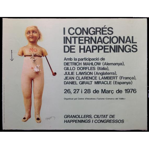 I Congrés Internacional de Happenings. Casa de Cultura, Granollers, 26, 27 i 28 de Març de 1976