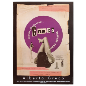 Alberto Greco. IVAM Centre Julio González, Valencia, 29 noviembre 1991 - 19 Enero 1992