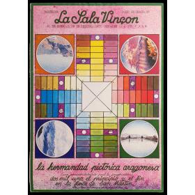 La hermandad pictórica aragonesa. La Sala Vinçon, Barcelona, 31 de Enero al 23 de Febrero, 1977