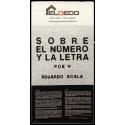 Sobre el número y la letra - Poe + Eduardo Scala. Eldeco, Palma de Mallorca, 28 de julio - 14 de agosto 1981