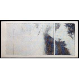 Ian Mckeever - Seria Pól, 1978 (Field Series, 1978). Galeria Akumulatory 2, Poznan, III-1979