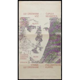 Lily Greenham Voz - Idioma, Fonética, Semántica, Sintaxis, Música. Encuentros Pamplona, Cúpula Neumática, 29-VI, 1972