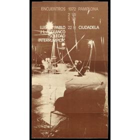 """Luis de Pablo, J. L. Alexanco - """"Soledad interrumpida"""". Encuentros Pamplona, Ciudadela, 2-3 VII, 1972"""