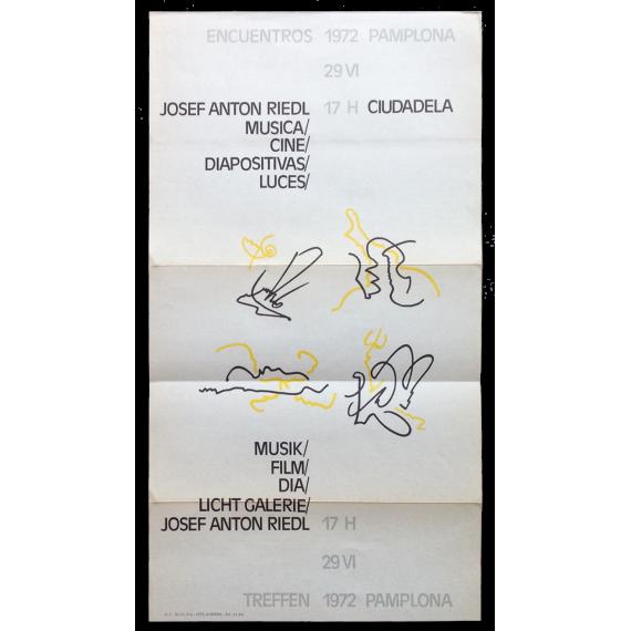 Josef Anton Riedl - Música/Cine/Diapositivas/Luces. Encuentros Pamplona, Ciudadela, 29-VI, 1972