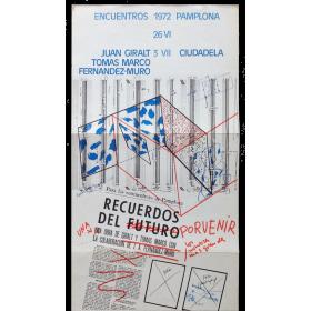 Juan Giralt, Tomás Marco, Fernández-Muro. Encuentros Pamplona, Ciudadela, 26 VI - 3 VII, 1972