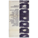 Películas experimentales. Encuentros Pamplona, Cine Príncipe de Viana, 27 VI - 3 VII, 1972