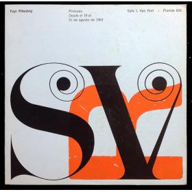 Yuyi Pitashny - Pinturas. Sala I, Van Riel, [Buenos Aires], desde el 19 al 31 de agosto de 1963