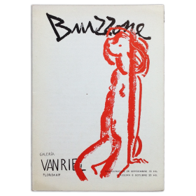 Bruzzone. Galería Van Riel, [Buenos Aires], 26 septiembre - 8 octubre