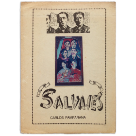 Salvajes - Carlos Pamparana. Centro de Artes Visuales, La Plata, 30 de Noviembre al 5 de Diciembre, 1986