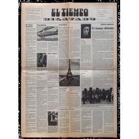 El temps dilatat - El tiempo dilatado. Galería Maeght, Barcelona, 6 de maig de 1975