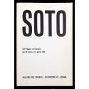 Soto. Galleria del Naviglio, Milano, 26 marzo al 9 aprile 1969