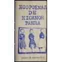 Ecopoemas de Nicanor Parra (pájaro de cuentas Nº 1)