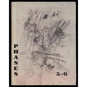 Phases. Cahiers Internationaux de documentation sur la poésie et l'art d'avant-garde. N° 5-6, Janvier 1960