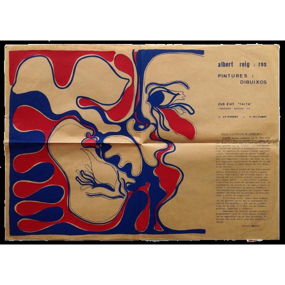 """Albert Reig i Ros - Pintures i dibuixos. Club d'Art """"Taita"""", [Barcelona]"""