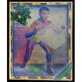 Boxeador (técnica mixta)