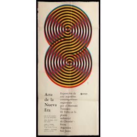 Arte de la Nueva Era. Exposición de arte argentino contemporáneo organizada por el Instituto Torcuato Di Tella