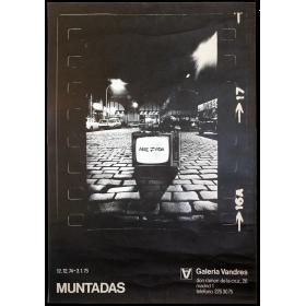 Muntadas. Arte-Vida. Galería Vandrés, Madrid, diciembre 1974 - enero 1975