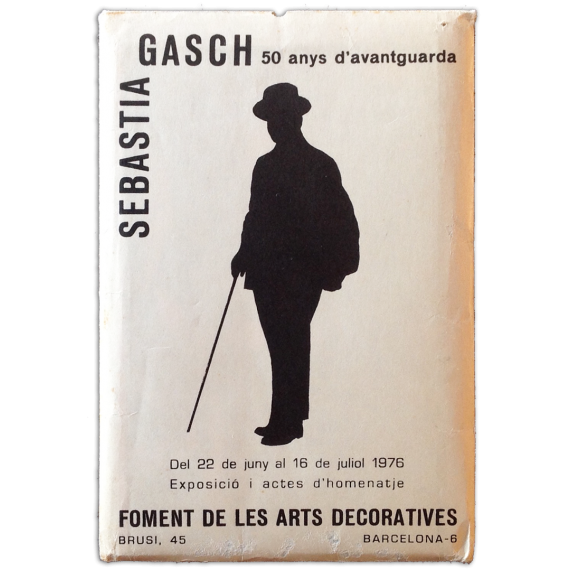 Sebastià Gasch, 50 anys d'avantguarda. Exposició i actes d'homenatje, del 22 de juny al 16 de juliol 1976