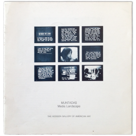 Muntadas - Media Landscape. The Addison Gallery of American Art, Andover, January-February 1982