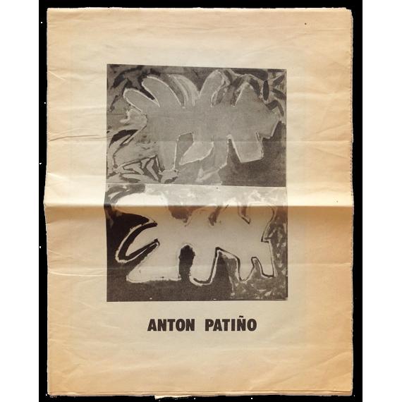 Antón Patiño. Galería de arte Buades, Madrid, Octubre 1980