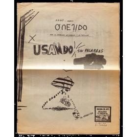 Manolo Quejido. Galería de arte Buades, Madrid, Octubre 1977