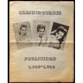 Publicidad 1946-1956. Galería Buades, Madrid, abril-mayo [1976]