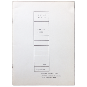 Espai B5 - 125, nº 1: Treballs recents de Carles Pujol