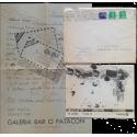 Arte Postal. Galería Bar O Patacón, La Coruña, Verano 1981