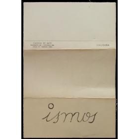 Ismos. Galería de Arte, Buenos Aires, del 18 de noviembre al 2 de diciembre de 1964