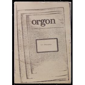 Orgon. Arte Experimental. Nº 1 - Verano 1976