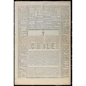 Esquela Allende Chile (poema visual) - Ricardo Cristóbal