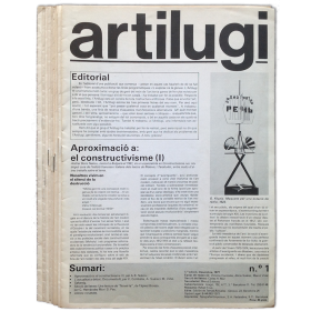 Artilugi. Núms. 1 al 14. Desembre 1977 a Març 1982 (revista completa)