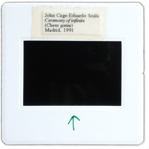 [Rito del Infinito - Ceremony of infinite: John Cage y Eduardo Scala, Madrid, 1991]