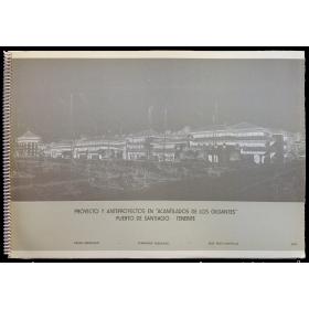 """""""Acantilados de los gigantes"""", Puerto de Santiago - Tenerife (1977). César Manrique - Fernando Higueras - J. Ruiz Castillo"""