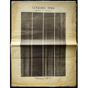 Gonzalo Tena - Pinturas (1977). Galería Buades, Madrid, abril 1977