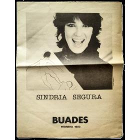 Sindria Segura. Galería Buades, Madrid, Febrero 1983