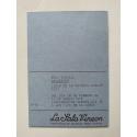 "Wolf Vostell - ""Calatayud"". 30 dibujos-objeto. Instituto Alemán - La Sala Vinçon, Barcelona, 28 de Febrero-16 de Marzo 1974"