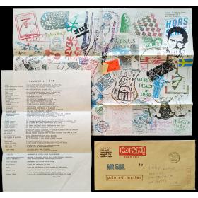 Ryosuke Cohen - Brain Cell nº 113, 22 Dec. 1988 [mail art]