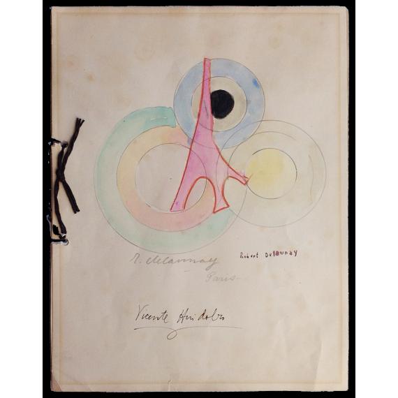 """Tour Eiffel"" - Vicente Huidobro, Robert Delaunay"