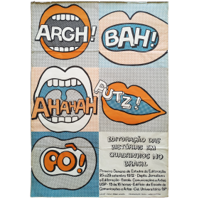 Editoraçao das histórias em quadrinhos no Brasil. Primeira Semana de Estudos de Editoraçao 25 a 29 setembro 1972