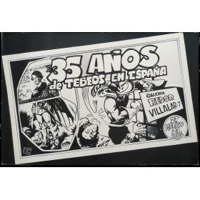 35 años de tebeos en España. Galería Redor, Madrid, 27 marzo-21 abril