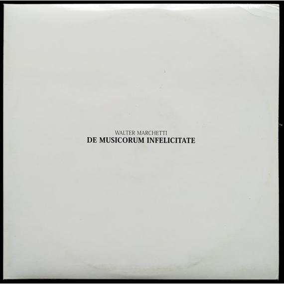 De musicorum infelicitate