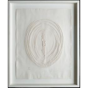 """Concetto Spaziale (Serie """"Sei Acqueforti Originali"""", 1964)"""