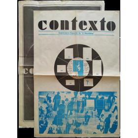 """Contexto. 2 Suplementos de """"A República"""", 9-7-1978 y 19-11-1978"""