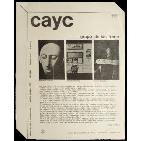 Grupo de los Trece. CAyC, Buenos Aires, 20 de setiembre de 1974