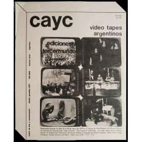 Ediciones Tercer Mundo presenta Video Tapes Argentinos