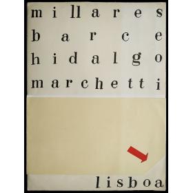 Pinturas de Manolo Millares – Concierto Zaj. Galería Divulgaçao, Lisboa, [1-30 Marzo 1965]
