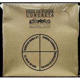 Pizza de Poesía Concreta - Grupo Escombros, Artistas de lo que queda